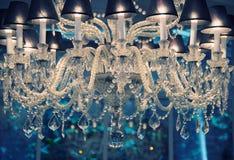Shiny crystal lamp Royalty Free Stock Image