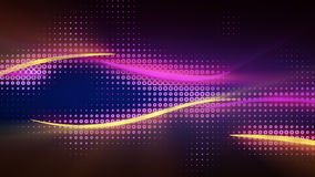 Shiny curves abstract background. Shiny curves. Computer generated abstract background royalty free illustration