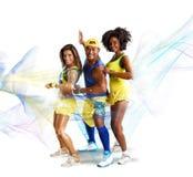 Shiny dancer royalty free stock image