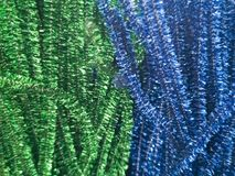 Shiny decorations in different colors for needlework. royalty free stock photography