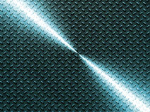 Shiny Diamond Plate Texture Background Stock Images