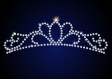 Diamond tiara Royalty Free Stock Photos