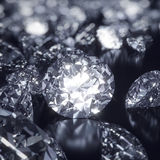 Shiny Diamonds background Royalty Free Stock Photos
