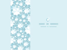 Shiny diamonds horizontal frame seamless pattern Stock Images