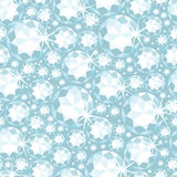 Shiny diamonds seamless pattern background Stock Image