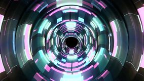 Shiny digital waves pulse in cyberspace motion graphics animation background new quality techno style cool nice