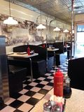 Shiny diner Royalty Free Stock Images
