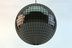 Shiny disco ball. In 3d Stock Image