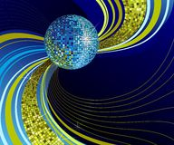 Shiny disco ball. Royalty Free Stock Photo