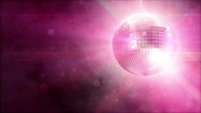 Shiny disco ball stock footage