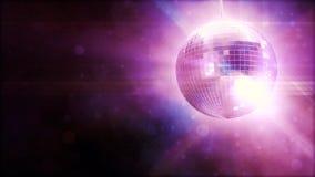 Shiny disco ball stock video footage