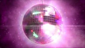 Shiny disco ball stock video