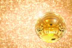 Shiny disco ball. 3d rendering shiny disco ball or mirror ball Royalty Free Stock Image