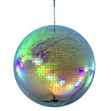 Shiny disco ball. 3d rendering shiny disco ball or mirror ball Royalty Free Stock Images