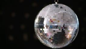 Shiny disco ball revolving Stock Images