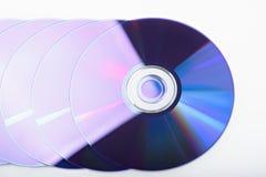 Shiny discs Stock Images