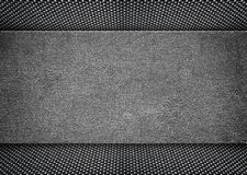 Shiny distressed metal frame on grunge background, 3d, illustrat. Black grunge metal plate or armour texture , 3d, illustration Royalty Free Stock Images
