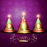 Shiny diwali crackers Stock Images