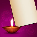Shiny diwali design Stock Image