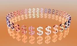 Shiny Dollar Stock Photography