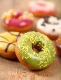 Shiny donuts Royalty Free Stock Photo