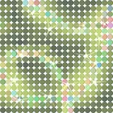 Shiny dots background in green Stock Photography