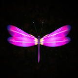 Shiny dragonfly stock illustration