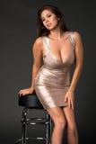 Shiny dress Royalty Free Stock Photo