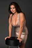 Shiny dress Royalty Free Stock Photos