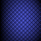 Shiny fabric, rippled texture, blue color silk, colorful vintage style background. Stock Photos