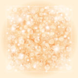 Pearly background. Shiny festive background with frame vector illustration