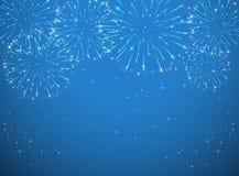 Shiny firework Royalty Free Stock Photography