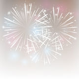 Shiny fireworks. Abstract background with shiny fireworks Royalty Free Stock Image