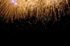 Shiny Fireworks background Royalty Free Stock Images