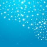 Shiny fireworks Stock Image
