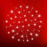 Shiny fireworks Royalty Free Stock Image