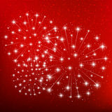 Shiny fireworks Royalty Free Stock Images