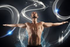 Shiny fitness Royalty Free Stock Photography