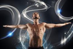 Shiny fitness royalty free stock photography