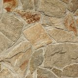 Shiny Flagstone Mosaic Tiled Texture Stock Photography