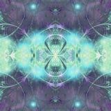 Shiny fractal globe Royalty Free Stock Photos