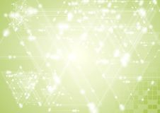 Shiny geometry tech vector design Royalty Free Stock Image