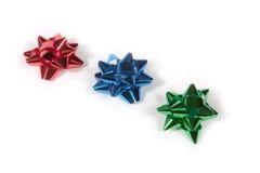 Shiny Gift Bows Royalty Free Stock Image