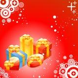 Shiny gift box stock illustration
