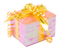 Shiny gift box Stock Images