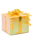 Shiny gift box Stock Image