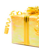 Shiny gift box Royalty Free Stock Image