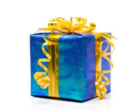 Shiny gift box Royalty Free Stock Image