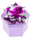 Shiny gift box Royalty Free Stock Photography