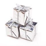 Shiny Gift Boxes Royalty Free Stock Image